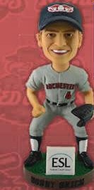 bobby grich bobblehead - rochester red wings - minnesota twins
