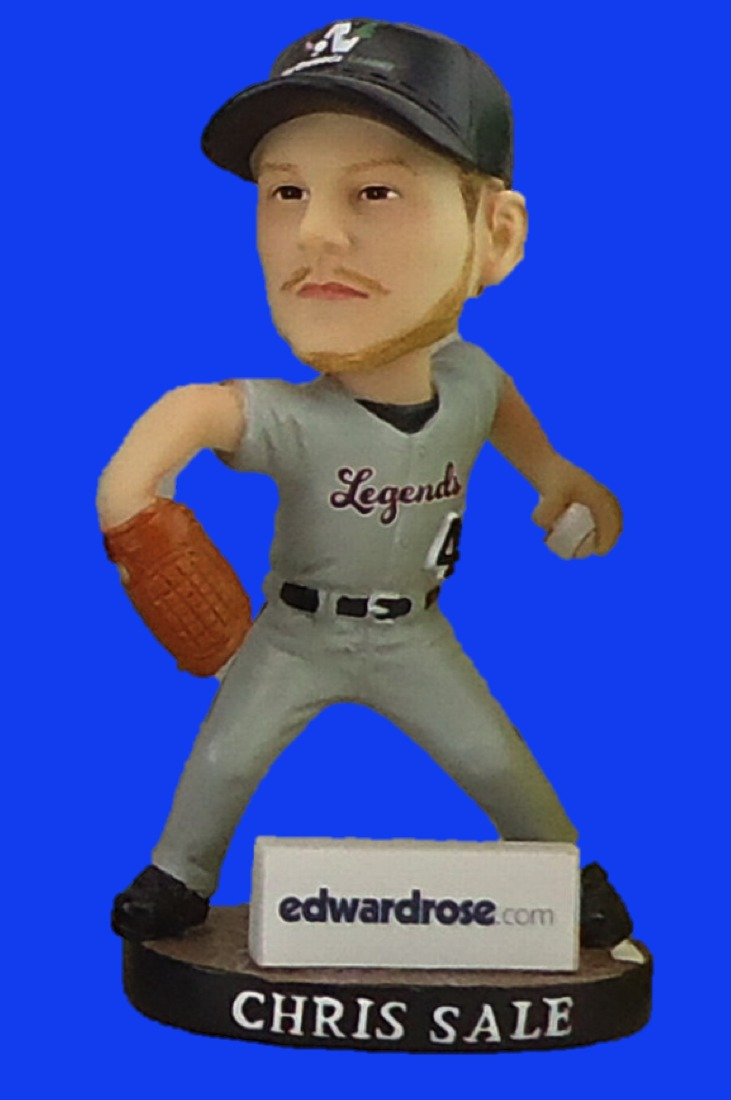 chris sale bobblehead - kalamazoo growlers