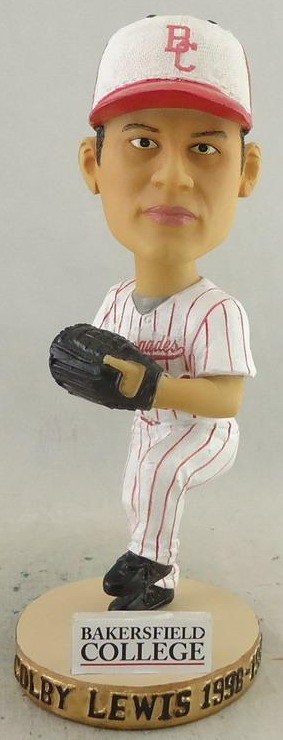 colby lewis bobblehead - bakersfield blaze - seattle mariners