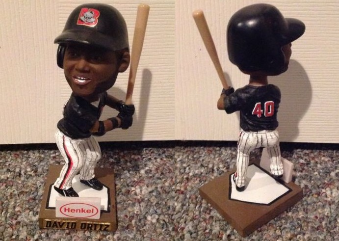 david ortiz bobblehead - new britain rock cats - colorado rockies (2)