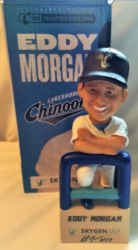 eddy morgan bobblehead - lakeshore chinooks - northwoods league (2)