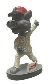 elvis rocky bobblehead - new britain rockcats - colorado rockies