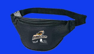 fanny pack - akron rubber ducks - cleveland indians