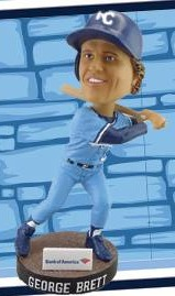 george brett bobblehead - wilmington bluerocks - kansas city royals