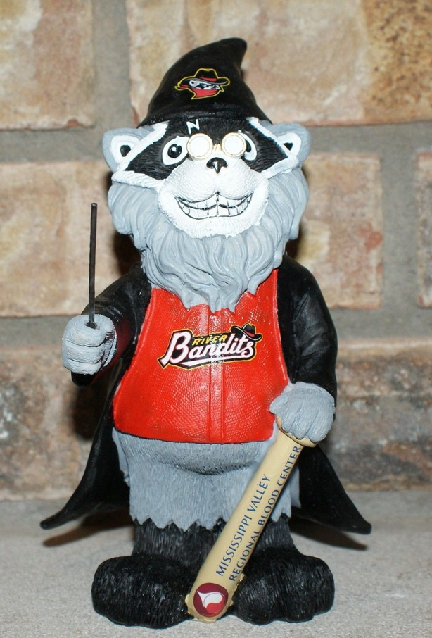 harry potter wizard rascal gnome - quad city river bandits - houston astros