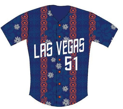 hawaiin replica jersey - las vegas 51s - new york mets