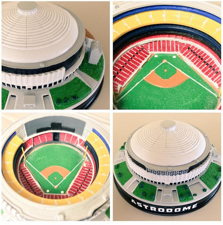 houston astrodome replica - april 18th, 2015