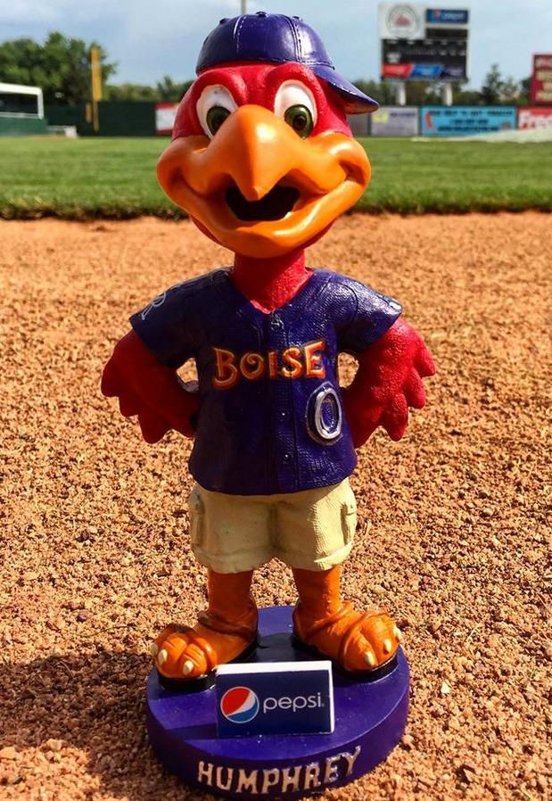 humphrey mascot - boise hawks - colorado rockies