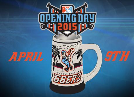 inland empire 66ers beer stein - la angels