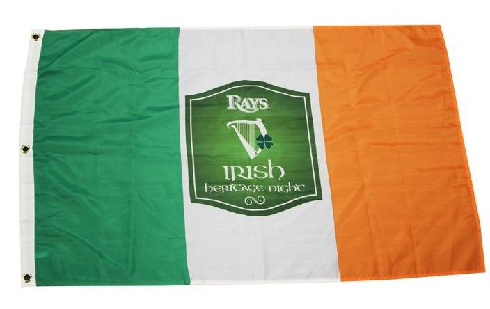 irish heritage flag - tamba bay rays