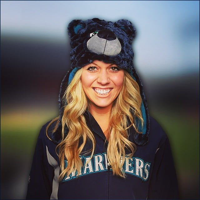 iwakuma bear hat - seattle mariners