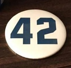 jacksonville suns - jackie robinson pin - april 15, 2015