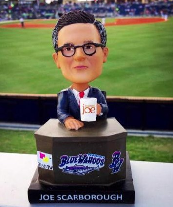 joe scarborough bobblehead - pensacola blue wahoos - cincinatti reds (2)