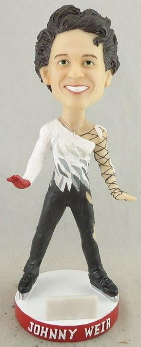 johnny weir bobblehead - lancaster barnstormers - atlantic professional league baseball