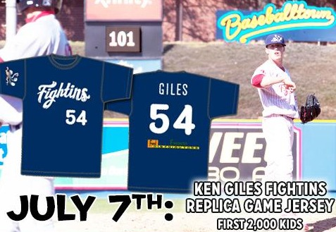 ken giles replica jersey - fightin phils - philadelphia phillies