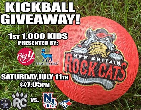 kickball - new britain rockcats - colorado rockies