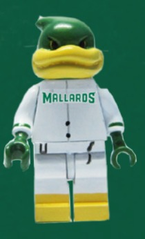 lego maynard - madison mallards - northwoods league