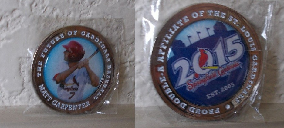 matt carpenter coin - springfield cardinals