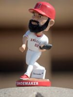 matt shoemaker bobblehead - inland empire 66ers - los angeles angels