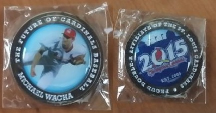 michael wacha commemorative coin - springfield cardinals - st louis cardinals