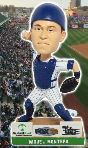 miguel montero bobblehead - south bend cubs - chicago cubs