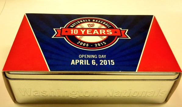 nationals 10th anniv tin - april 6th