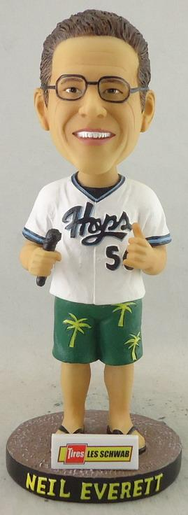 neil everett bobblehead - hillsboro hops - arizona diamondbacks