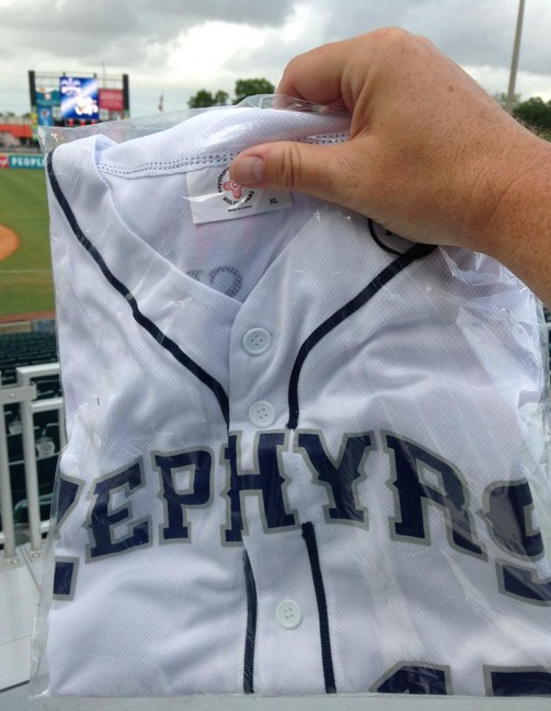 new orleans zephyrs replica jersey - marlins april 2015