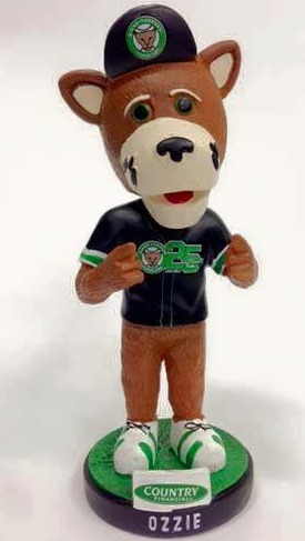 ozzie bobblehead - kane county cougars - arizona diamondbacks