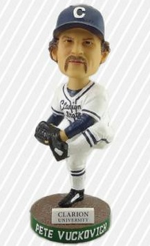 pete vuckovich bobblehead - altoona curve - pittsburgh pirates
