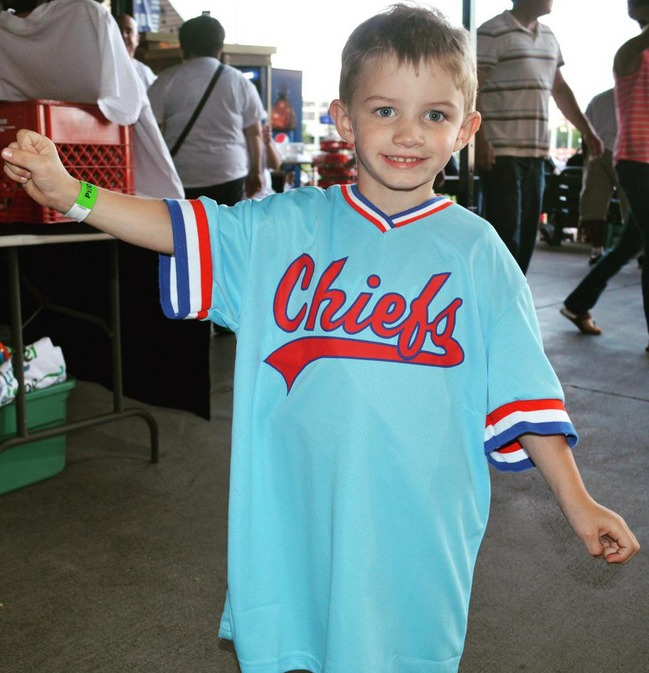 replica blue jersey - peoria chiefs - st louis cardinals