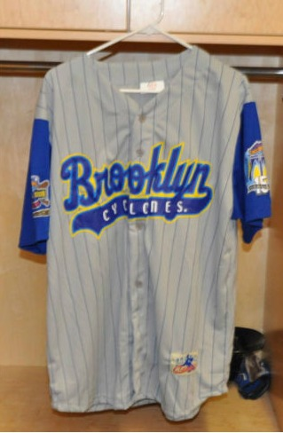 replica jersey 2001 road - brooklyn cyclones - new york mets