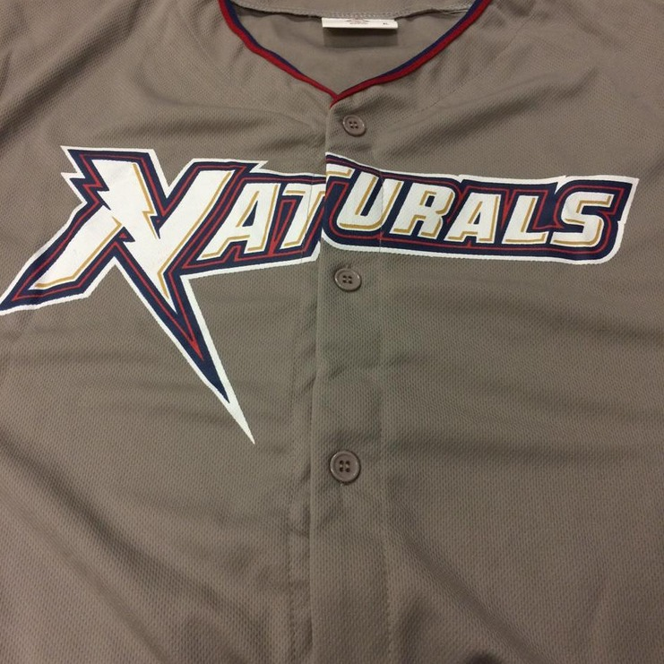 replica jersey - arkansas naturals - kansas city royals