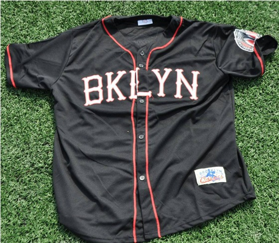 replica jersey black and red - brooklyn cyclones - new york mets