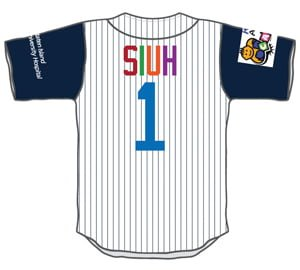 replica jersey pediatric cancer center SIUH - staton island yankees - new york yankees