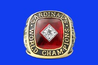 replica ring 1982 st louis cardinals - memphis redbirds - st louis cardinals
