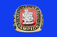 replica ring 1985 national league champions st louis cardinals - memphis redbirds - st louis cardinals