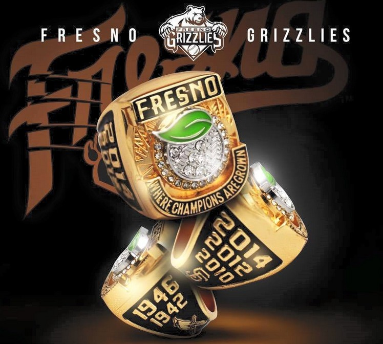 replica ring - fresno grizzlies - houston astros