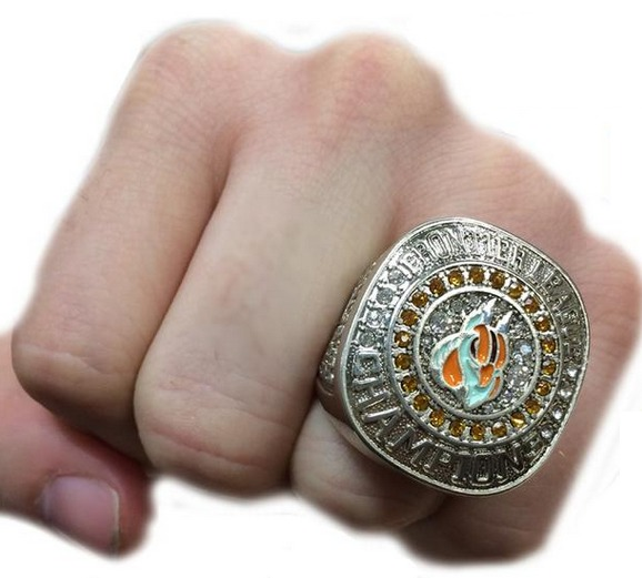 replica ring - shaumburg boomers - frontier league baseball