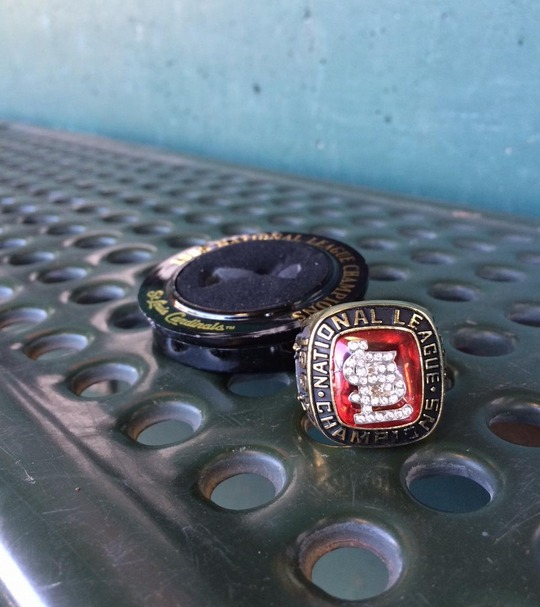 replica ring - springfield cardinals - st louis cardinals