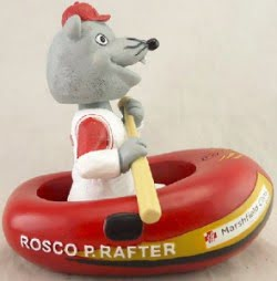 rosco rafting bobblehead - wisconsin rapid rafters