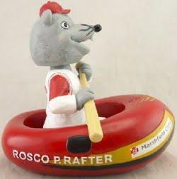 rosco rafting bobblehead - wisconsin rapid rafters