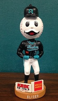 slider mascot bobblehead - Aug 2, 20215 - rochester honkers - northwoods league