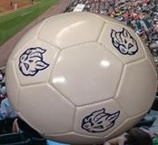 soccer ball - lehigh valley ironpigs - philadelphia phillies