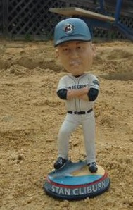 stan cliburn bobblehead - sm bluecrabs - atlantic professional league