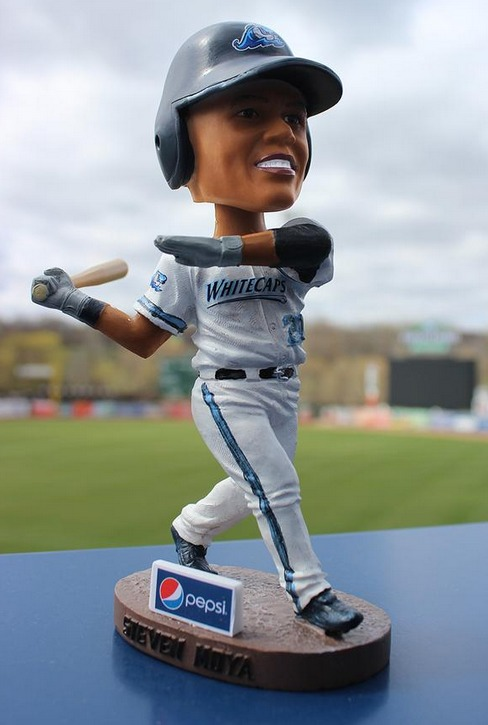 steven moya bobblehead - west michigan whitecaps - detroit tigers