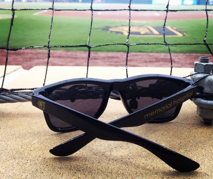 sunglasses - jacksonville suns - april 17th, 2015