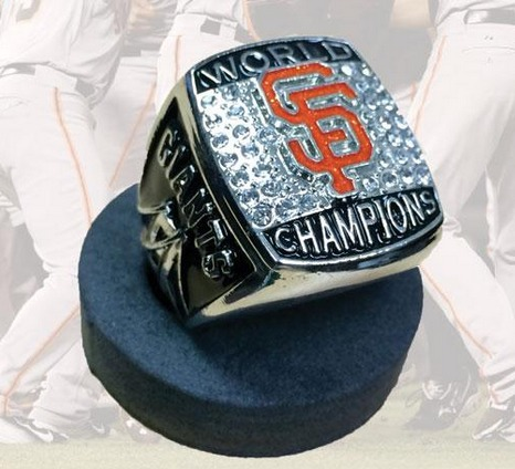 world series replica ring - richmond flying squirrels - san francisco giants