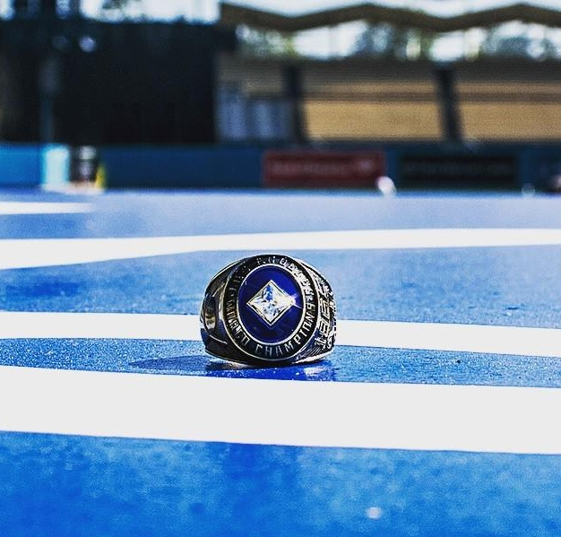 1965 championship replica ring - los angeles dodgers