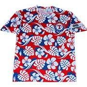 Texas Rangers_Hawaiian T Shirt_7-7-15